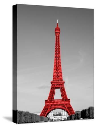 Paris in the Day in Red Border