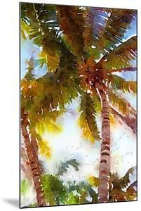 Watercolor Palms I by Emily Navas