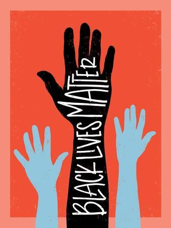 Black Lives Matter - Hands