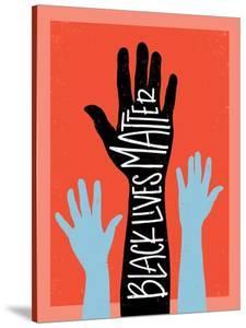 Black Lives Matter - Hands by Emily Rasmussen