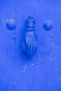 Morocco, Chaouen, Traditional Fatima Door Knocker by Emily Wilson