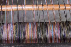 Morocco, Fes Medina, Weaving in the Old Souk by Emily Wilson