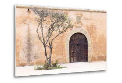 Morocco, Marrakech. Doorway Set into a Beige Way