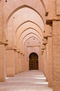Morocco, Marrakech, Tinmal. the Great Mosque of Tinmal by Emily Wilson