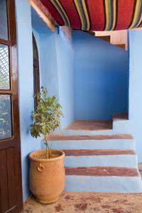 Morocco, Souss-Massa-Draa, Ait Benhaddou. Adobe Home's Entrance by Emily Wilson