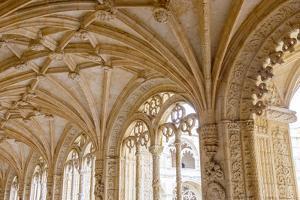 Portugal, Belem. Granada Monasterio De San Jeronimo by Emily Wilson