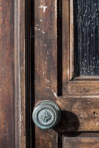 Portugal. Central Region, Aveiro. 'Portuguese Venice'. Door knob. by Emily Wilson