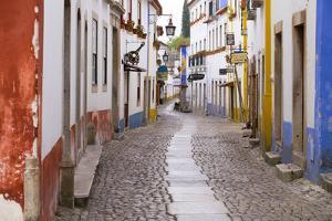 Portugal, Obidos. Leira District by Emily Wilson
