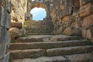 Turkey, Anatolia, Aydin, Theater ruins of Miletus by Emily Wilson