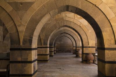 Turkey, Cappadocia. Caravanserais Interior Architecture by Emily Wilson
