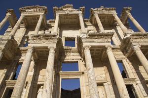 Turkey, Izmir, KUSAdasi, Ephesus. the Library of Ephesus by Emily Wilson