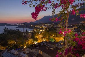 Turkey, Kas. Sunset over Kas by Emily Wilson