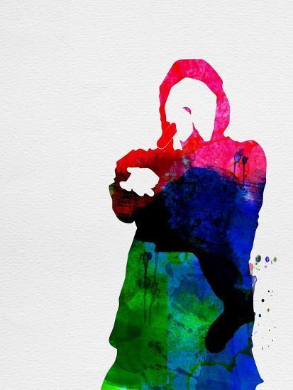Eminem Watercolor-Lana Feldman-Art Print