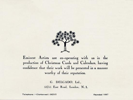 'Eminent Artists - G Delgado, Ltd.', 1935-Unknown-Photographic Print