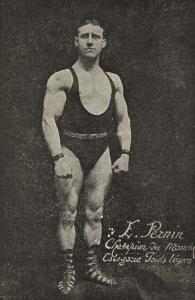 EmiPernin. Champion du monde. Catégorie poids légers (Poids et haltères) (L