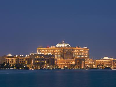 Emirates Palace Hotel, Abu Dhabi, United Arab Emirates, Middle East-Angelo Cavalli-Photographic Print