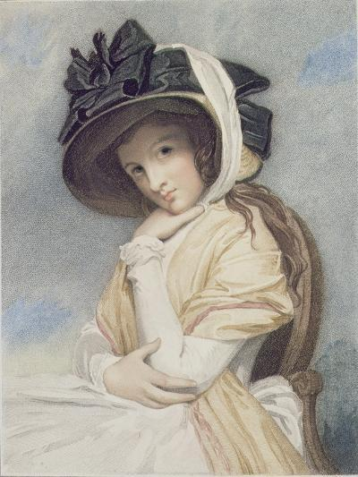 Emma, Engraved and Pub. by John Jones (C.1745-97), 1785 (Stipple)-George Romney-Giclee Print