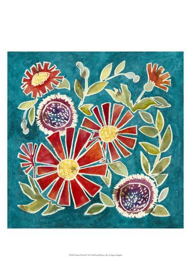 Emma Floral I-Megan Meagher-Art Print
