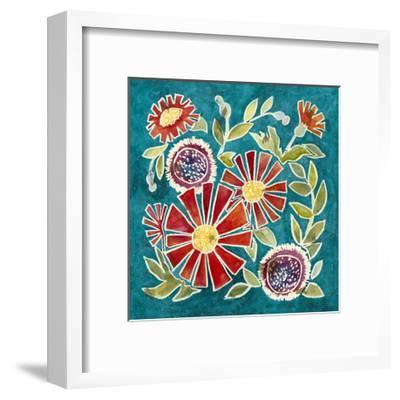 Emma Floral I-Megan Meagher-Framed Art Print