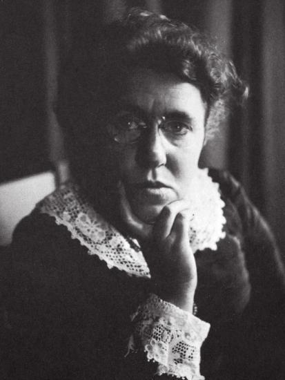 Emma Goldman, Russian-born American anarchist and agitator, early 20th century-Unknown-Photographic Print