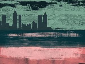 Atlanta Abstract Skyline I by Emma Moore