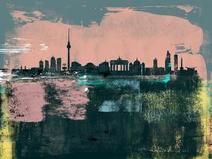 Berlin Abstract Skyline II by Emma Moore