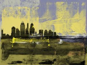 Cincinnati Abstract Skyline II by Emma Moore
