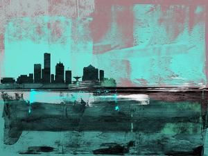 Milwaukee Abstract Skyline II by Emma Moore