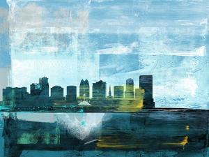 Orlando Abstract Skyline I by Emma Moore