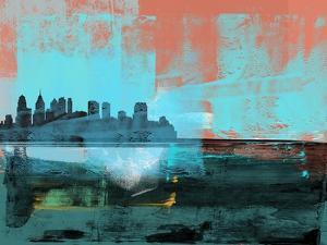 Philadelphia Abstract Skyline I by Emma Moore
