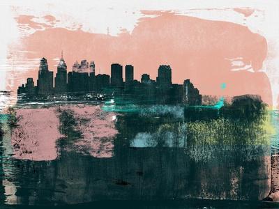 Philadelphia Abstract Skyline II