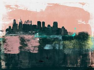 Philadelphia Abstract Skyline II by Emma Moore