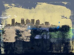 Phoenix Abstract Skyline II by Emma Moore