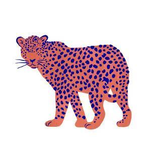 Bright Leopard I by Emma Scarvey