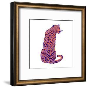 Bright Leopard II by Emma Scarvey