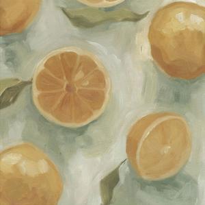 Citrus Study in Oil II by Emma Scarvey