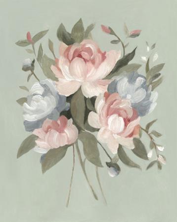 Pastel Bouquet I by Emma Scarvey