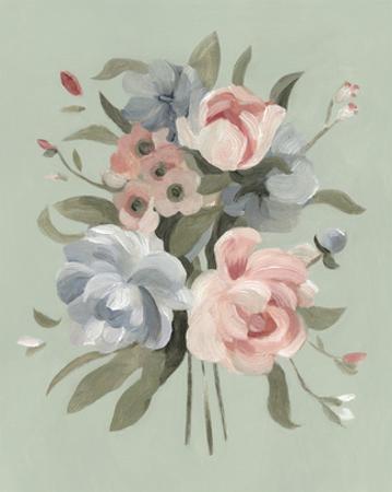 Pastel Bouquet II by Emma Scarvey