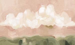 Pink Haze Sunset II by Emma Scarvey