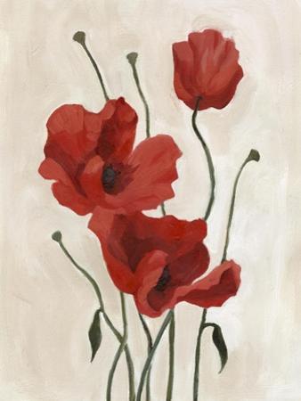 Poppy Bouquet II by Emma Scarvey