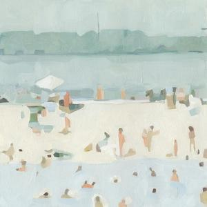 Sea Glass Sandbar I by Emma Scarvey