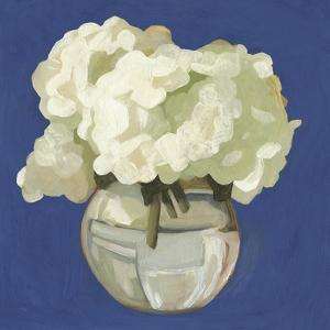 White Hydrangeas I by Emma Scarvey