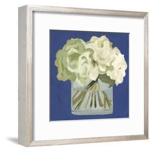 White Hydrangeas II by Emma Scarvey