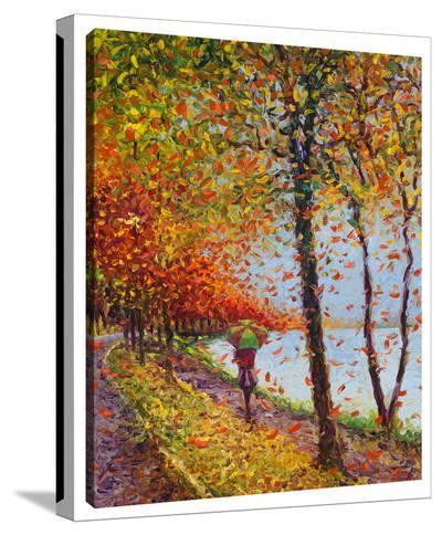 Emma Walks Lakeview-Iris Scott-Gallery Wrapped Canvas