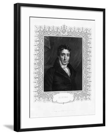 Emmanuel Joseph Sieyes, French Clergyman and Statesman, 19th Century-WH Mote-Framed Giclee Print