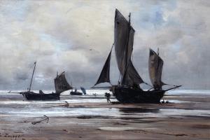 Berck, 1891 by Emmanuel Lansyer