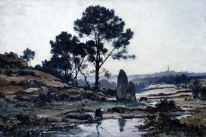 Douarnenez, 1885 by Emmanuel Lansyer