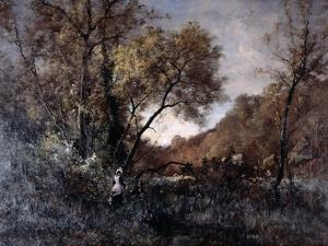 Flowers in April, 1877 by Emmanuel Lansyer
