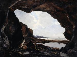 Grotto of Ris, Douarnenez, 1876 by Emmanuel Lansyer