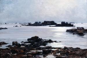 Ile De Sein, 1884 by Emmanuel Lansyer